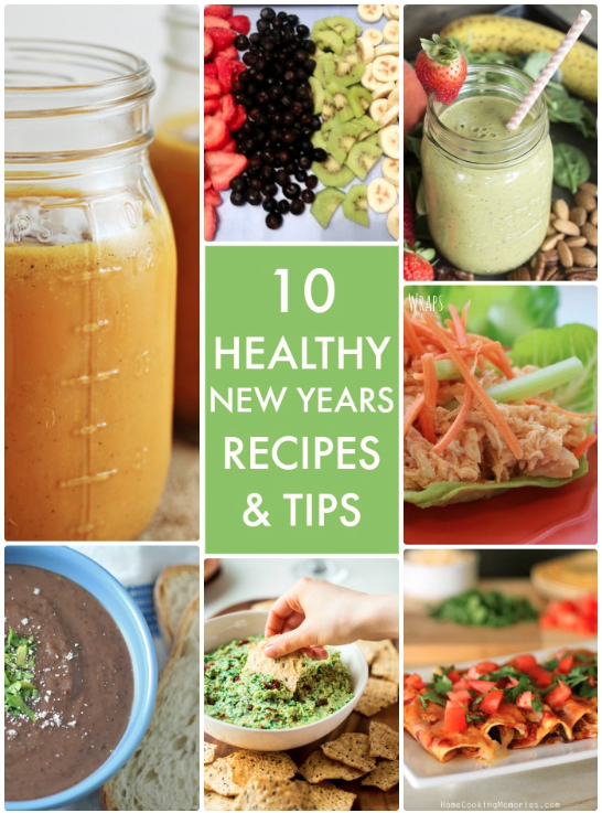 10 Healthy New Years Recipes and Tips