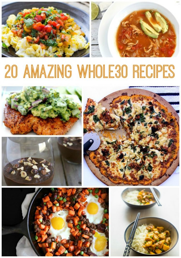 50 amazing whole 30 recipes to make it delicious and easy!