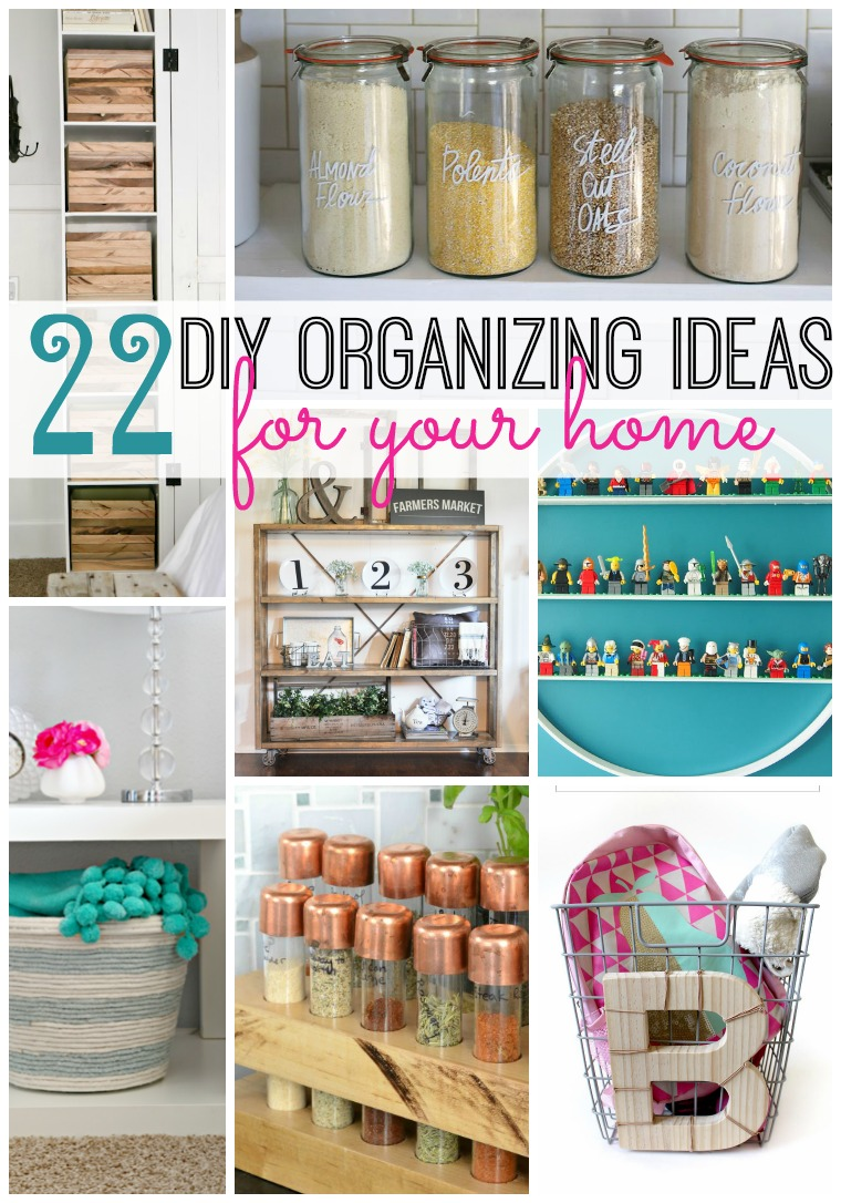 22 diy organizing ideas for your home tatertots and jello for Ideas for home