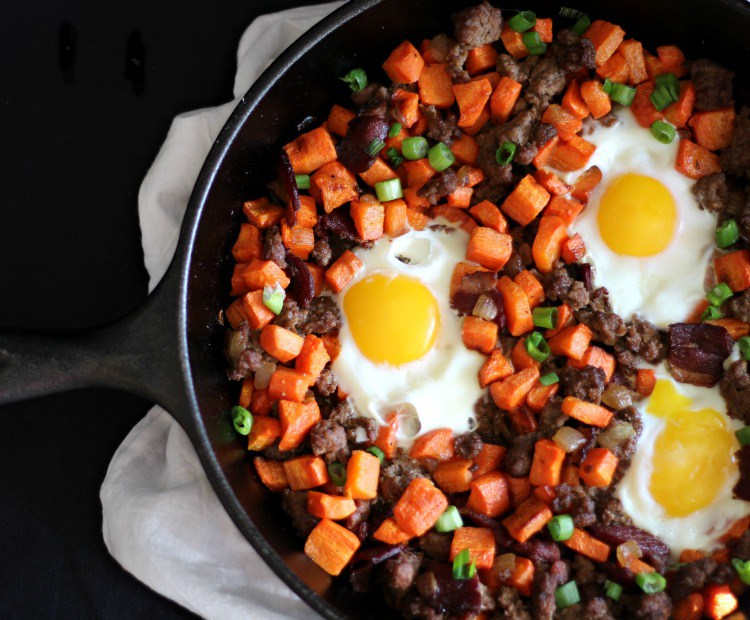 Paleo-Carrot-Beef-Hash-with-Duck-Bacon