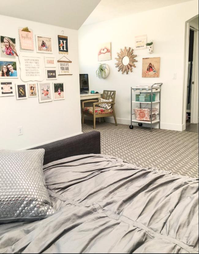 bedroom office space