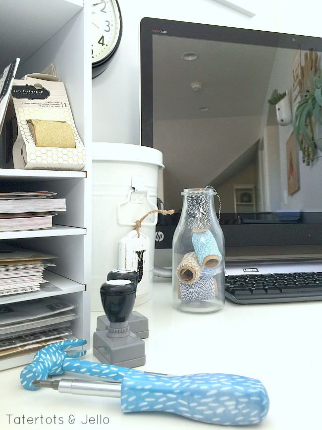 bedroom work space