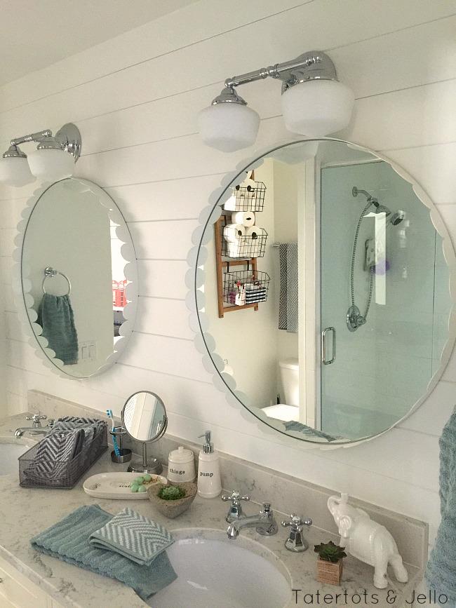 cottage bathroom details