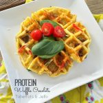Morning Protein Waffle Omelet Bar!