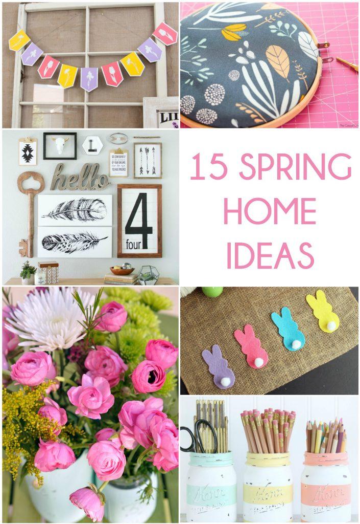 15 spring Home DIY ideas!