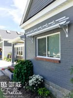 1905 Cottage Addition: Pergola/Trellis Update
