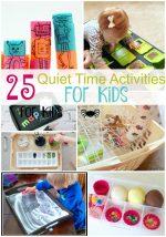 25 Quiet Time Activities for Kids