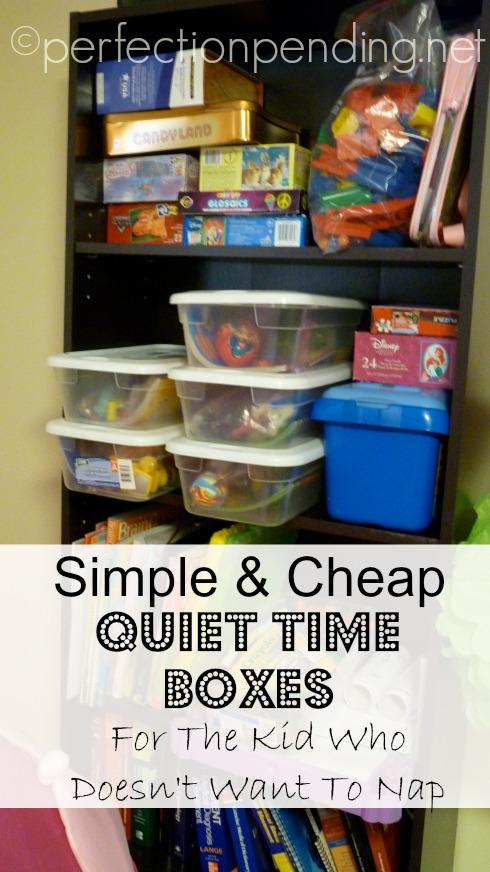 Quiet-Time-Boxes