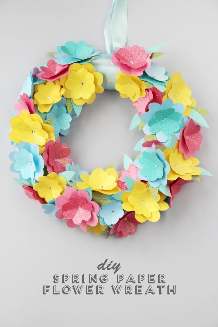 diy-spring-paper-flower-wreath-gathering-beauty-blog