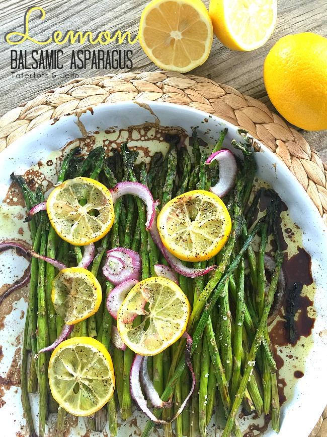 Lemon Balsamic Asparagus Recipe