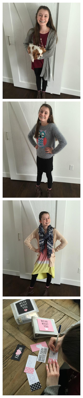 Tween Clothes Organization