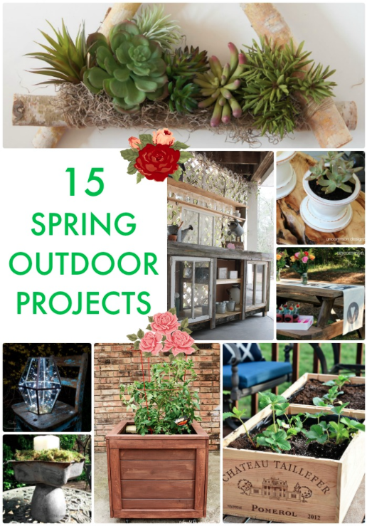 15 Spring Outdoor Projects