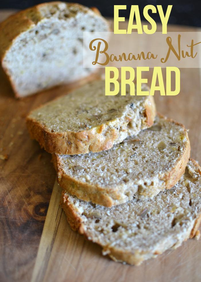 Easy Banana Nut Bread Tatertots And Jello