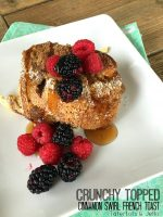 Crunchy-Topped Cinnamon Swirl French Toast Casserole