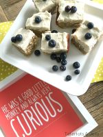 Curious George Frosted Banana Bars and Printable!