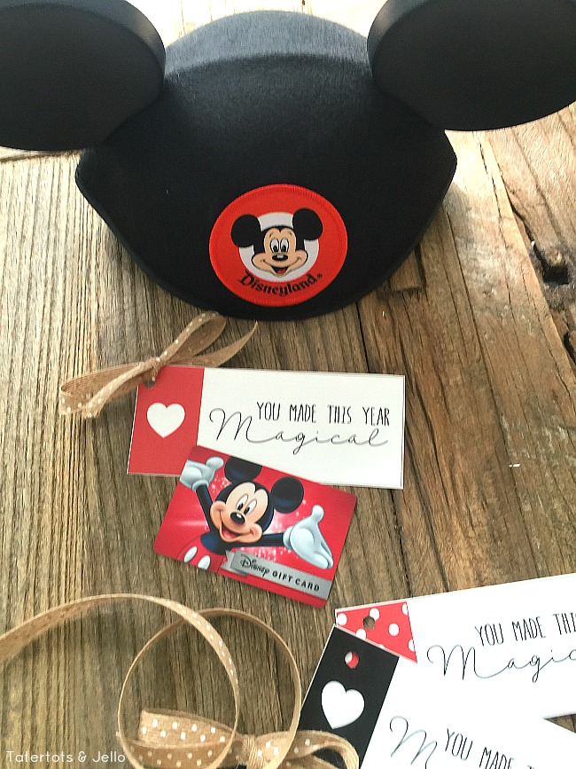 Disney Inspired Magical Tags And Teacher Gift Idea