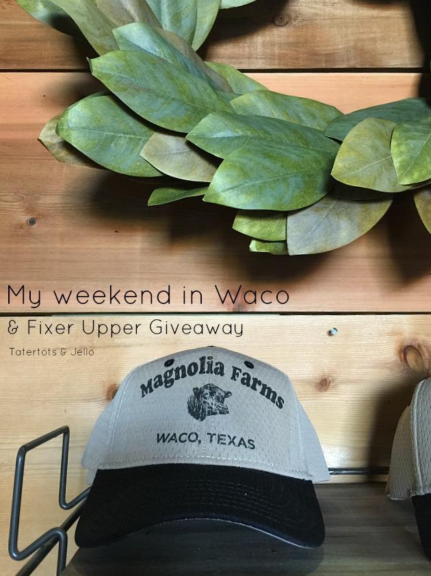 fixer upper waco hot spots