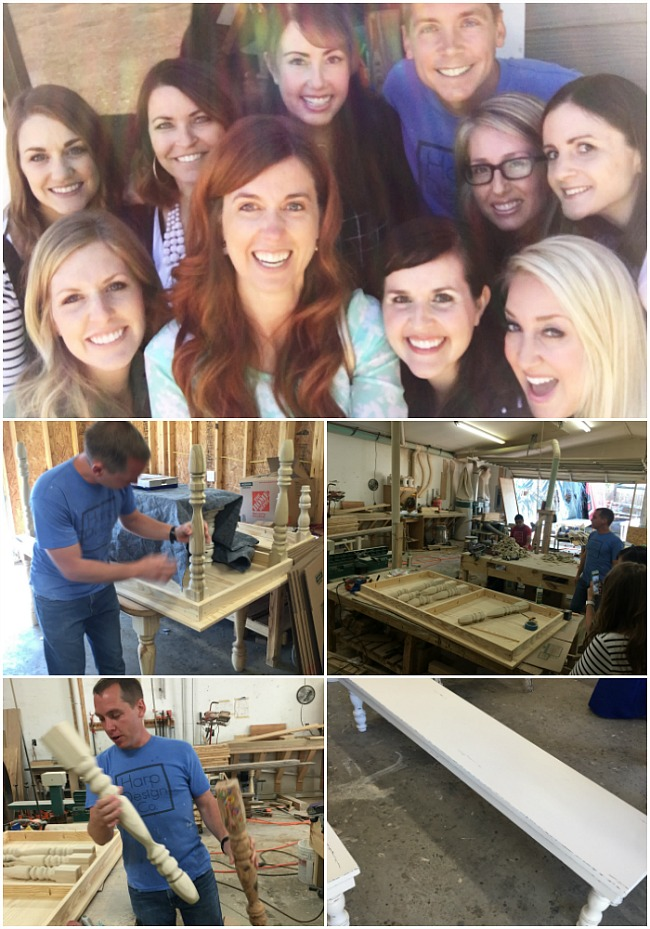 harp design co workshop tour waco texas