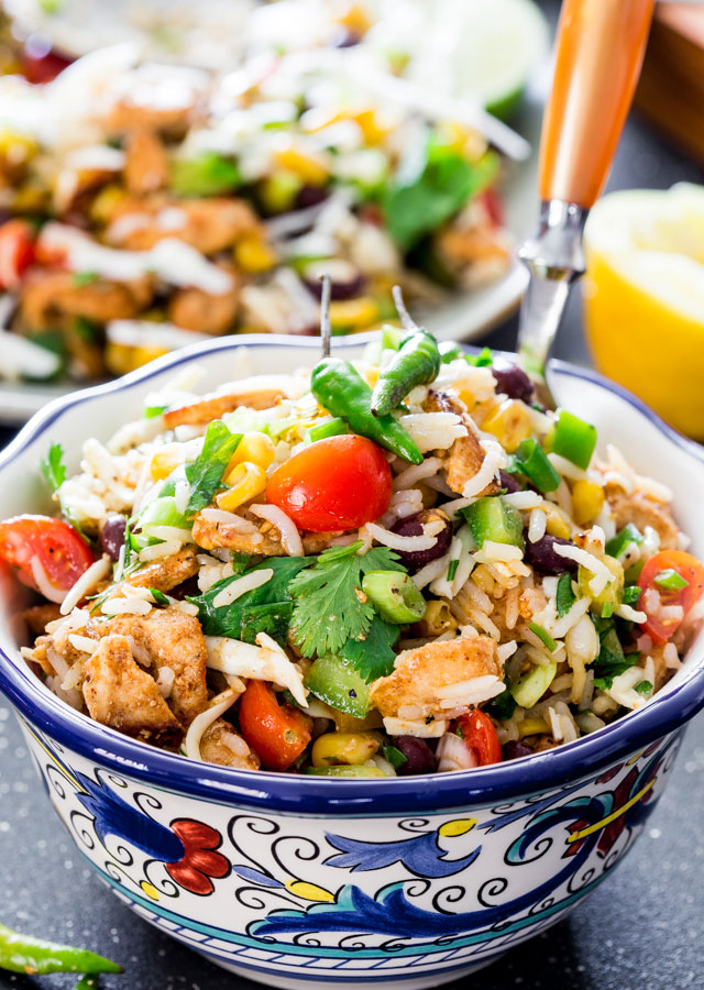 mexican-chicken-and-rice-salad