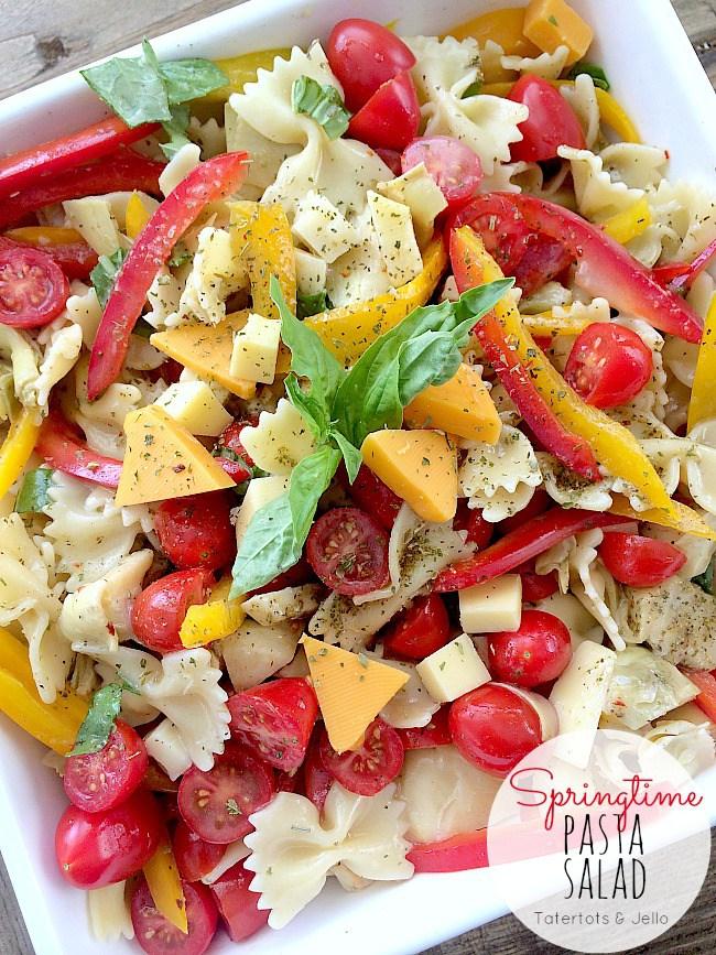 Amazing Springtime Pasta Salad recipe