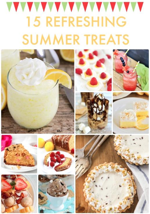 15 Refreshing Summer Treats