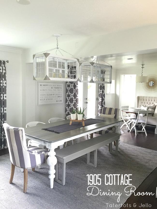 1905 cottage dining room