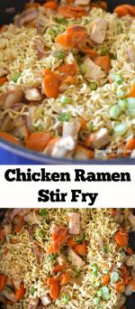 Chicken Ramen Stir Fry