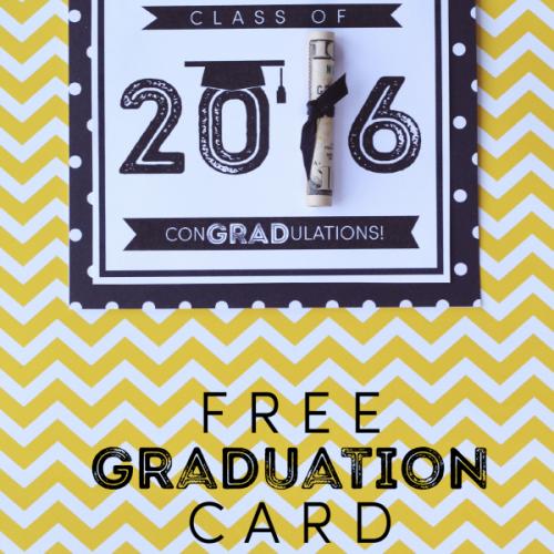 graduation free printable