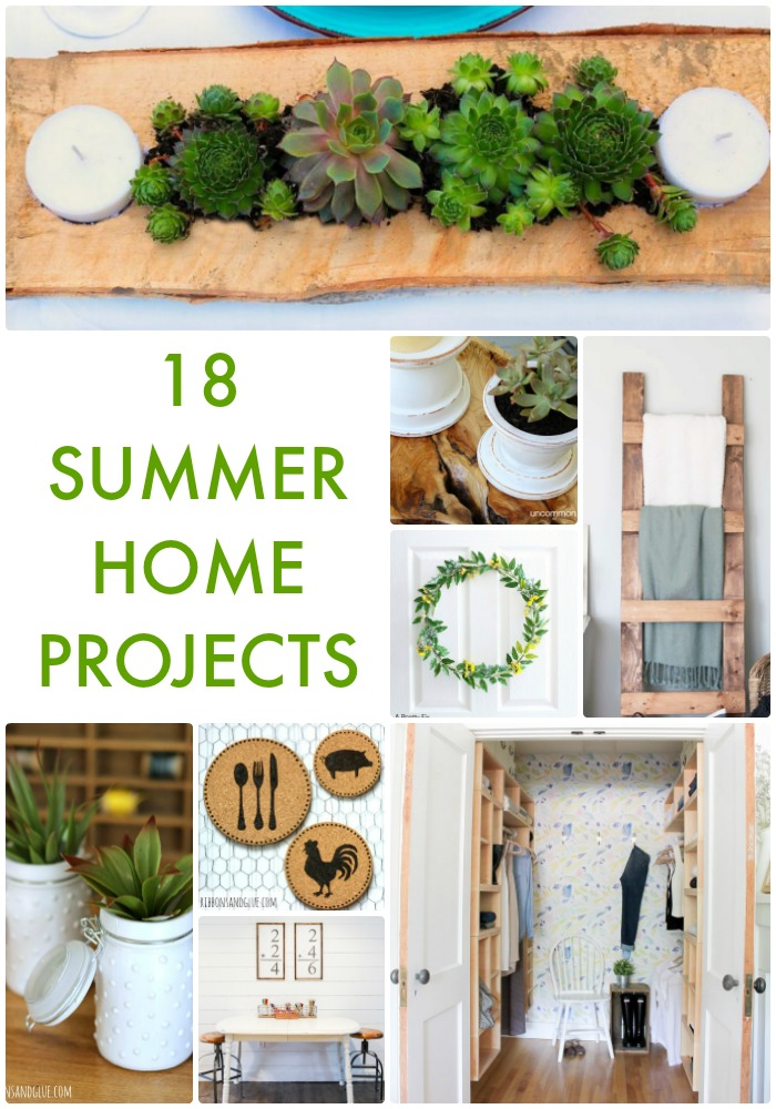 18 Summer Home Projects