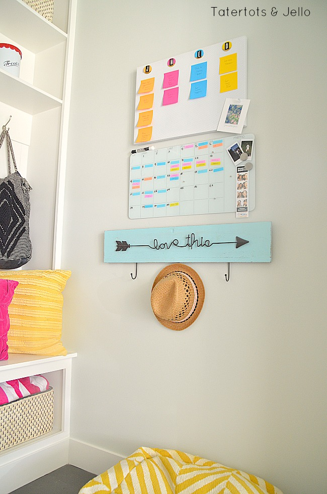 Calendar Ideas For Elementary : Diy back to school calendar system using post it notes