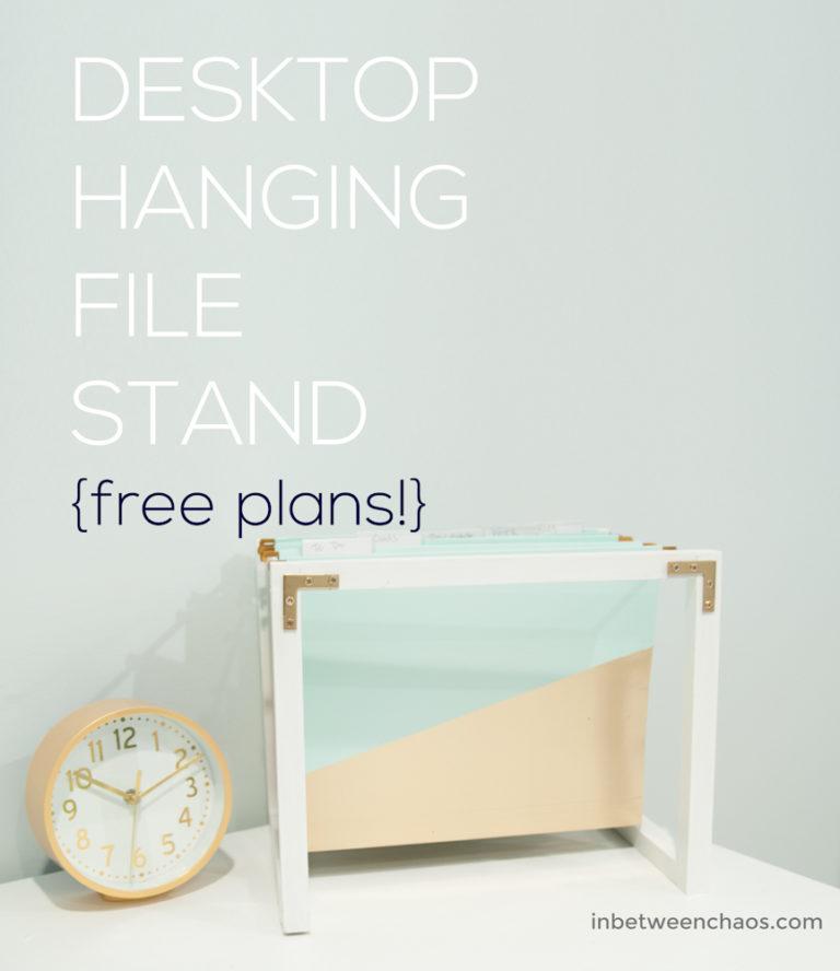 Desktop Hanging Folder Stand