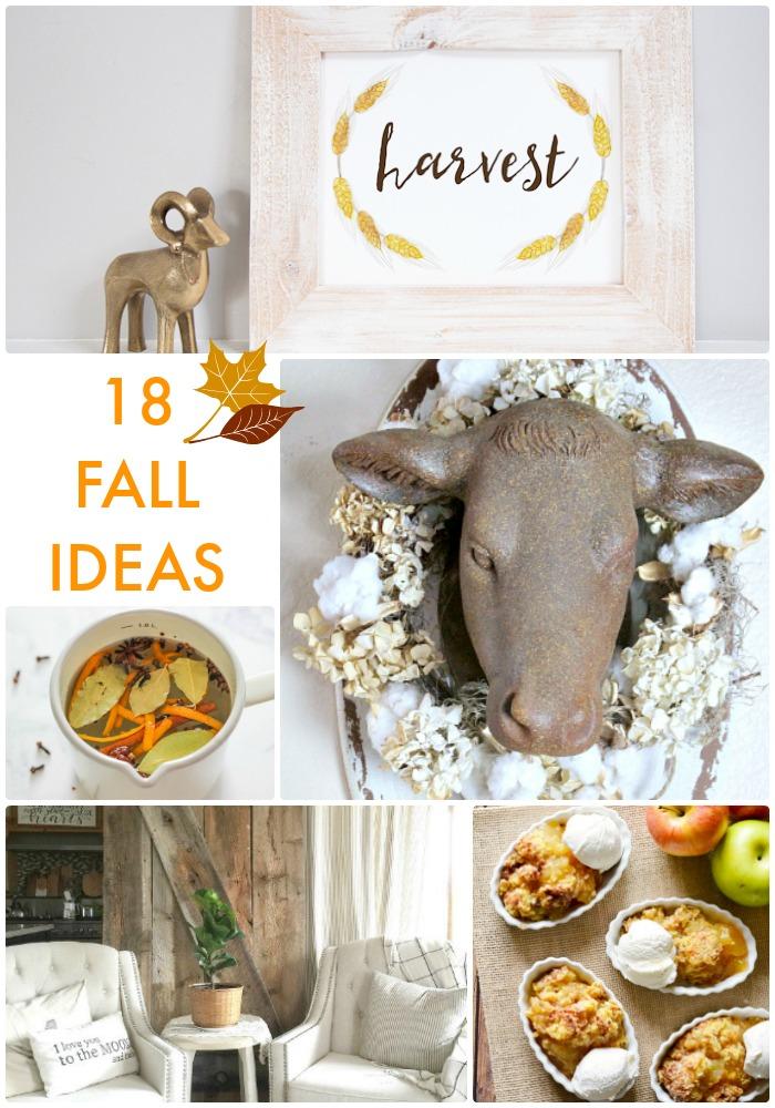 18 Fall Ideas