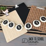 Back-to-School Black and White Dinner Party Ideas!