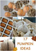 Great Ideas — 17 Pumpkin Ideas!
