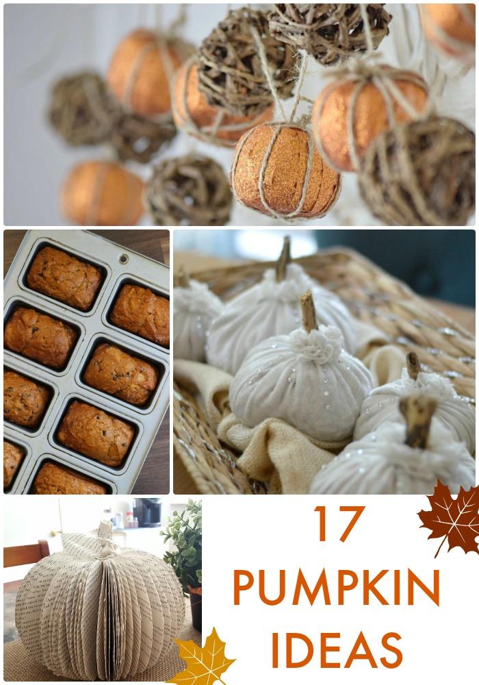 17 Pumpkin Ideas