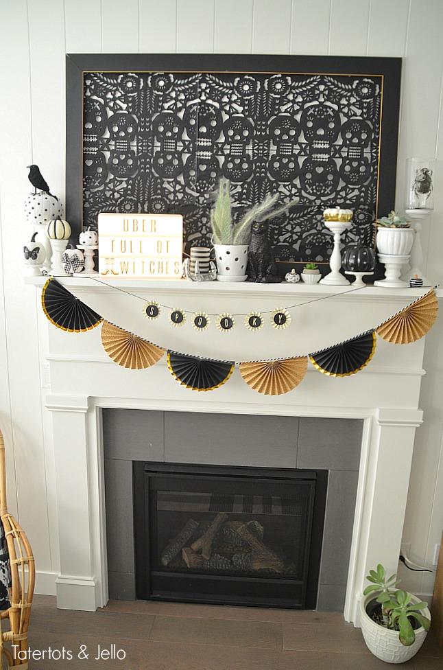 White Mantel Decorating Ideas