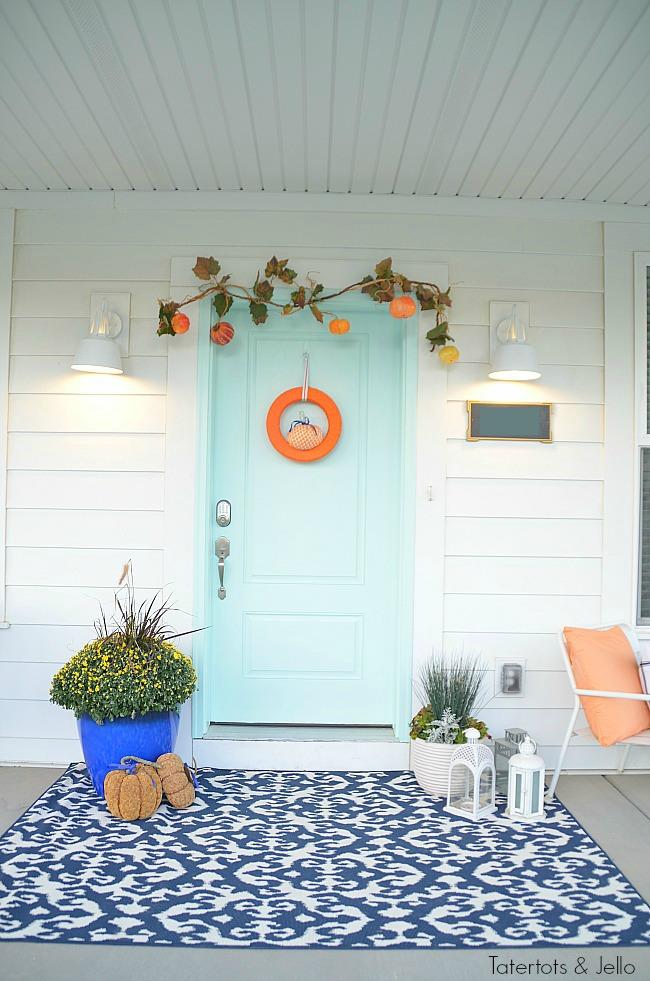 5 ways to create a pretty fall porch