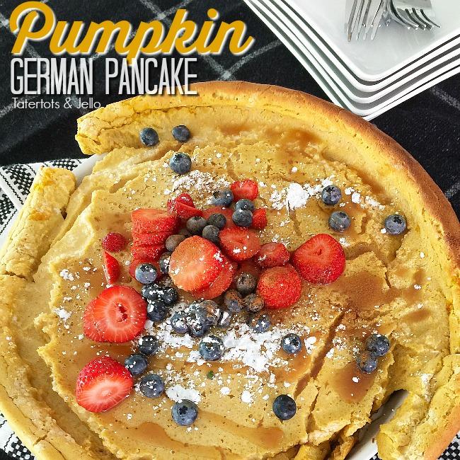 Giant Pumpkin German Pancake
