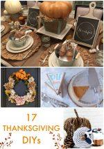 Great Ideas — 17 Thanksgiving DIYs!