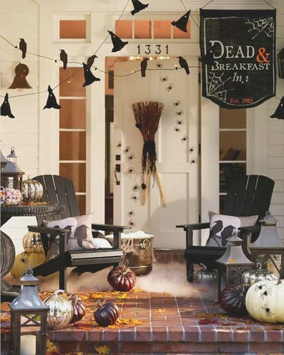 halloween porch decorating ideas