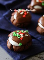 Chocolate Marshmallow Cookies