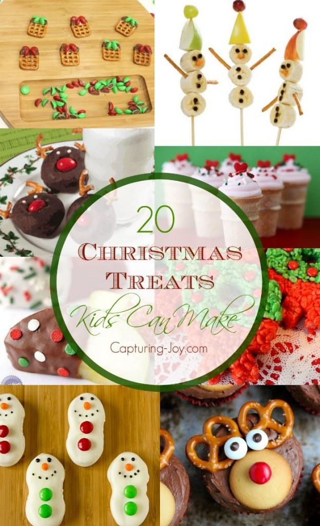 20 christmas treats kids can make