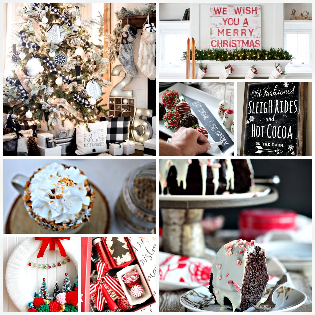 100 Amazing Holiday Ideas to make Christmas at your house even easier and more beautiful than ever!