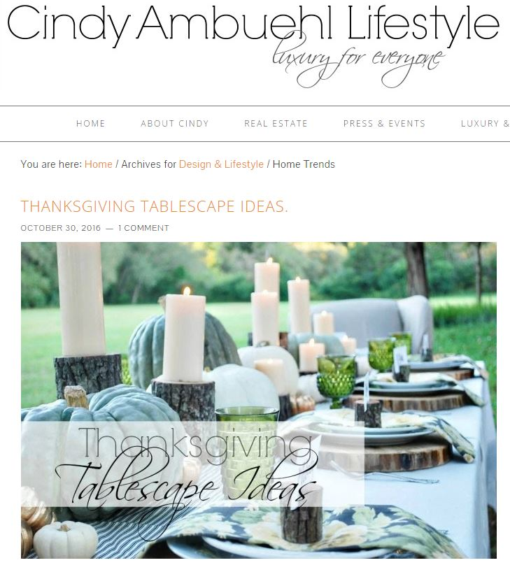 cindy ambuehl lifestyle home ideas