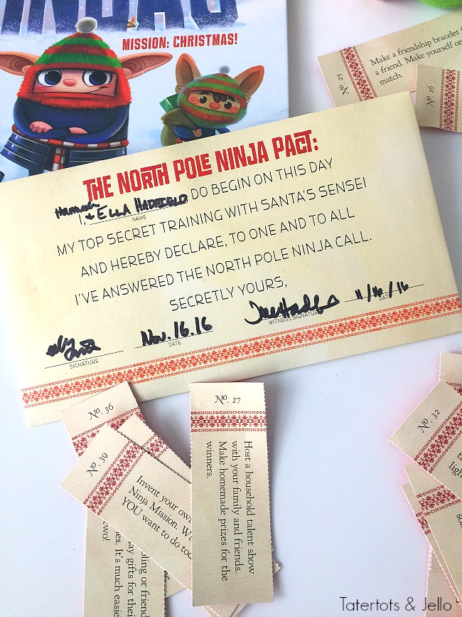 North Pole Ninjas elves that help kids being kindness back to christmas through random acts of kindness. A new family holiday tradition!