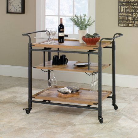 Family Game Night Card. Use a bar cart to organize everything you need for your next family game night!