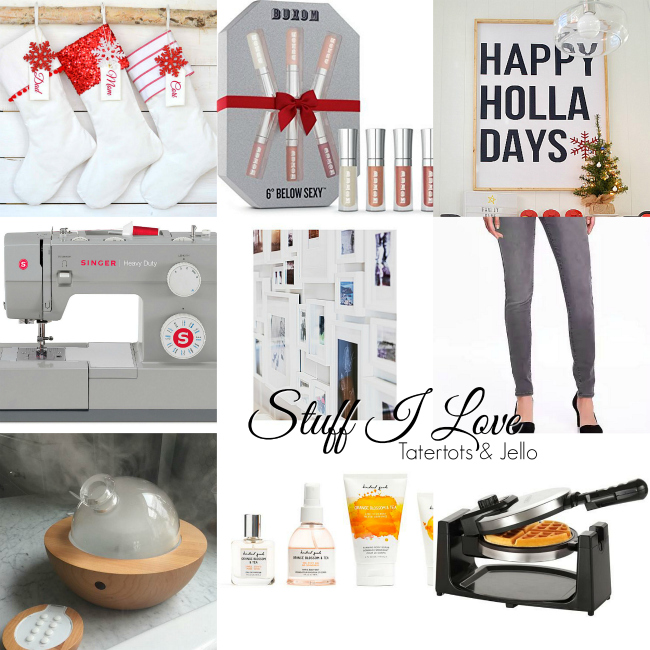 Favorite things in my home and for myself. See the things that 18 popular bloggers love. Great gift ideas!
