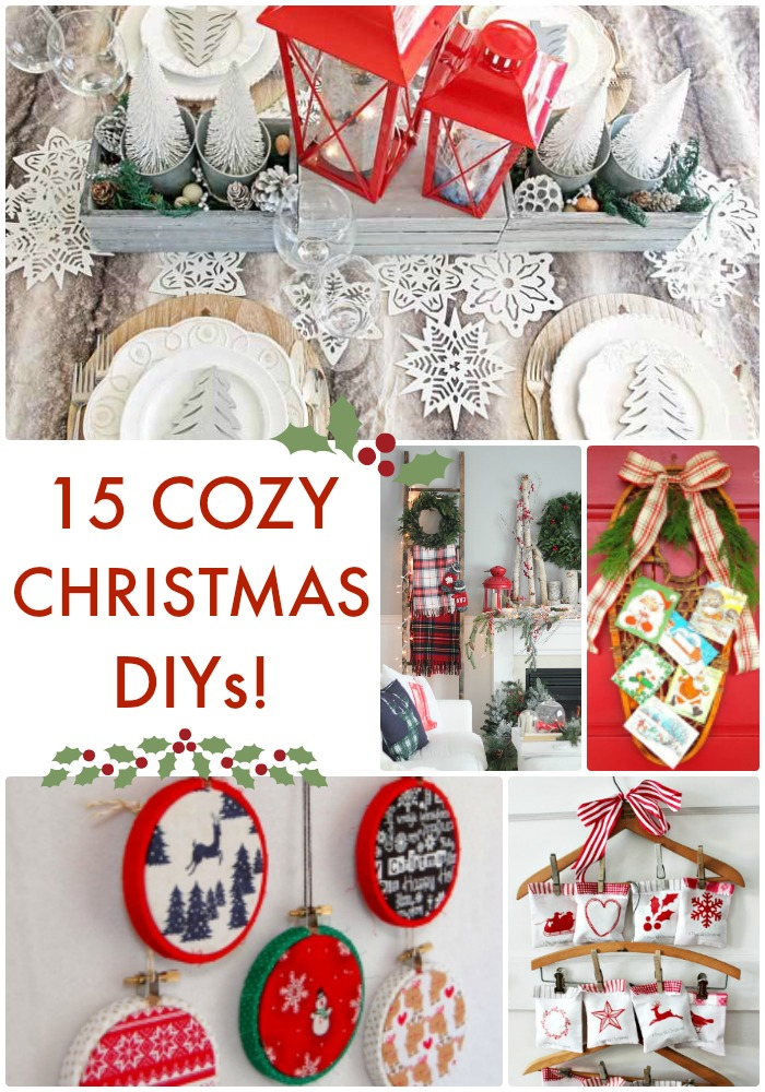 Great Ideas 15 Cozy Christmas DIYs
