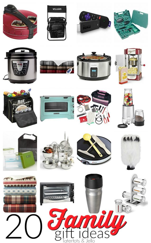 20 Fabulous FAMILY Holiday Gift Ideas s. Gift ideas for anyone in the family. Holiday gift giving.