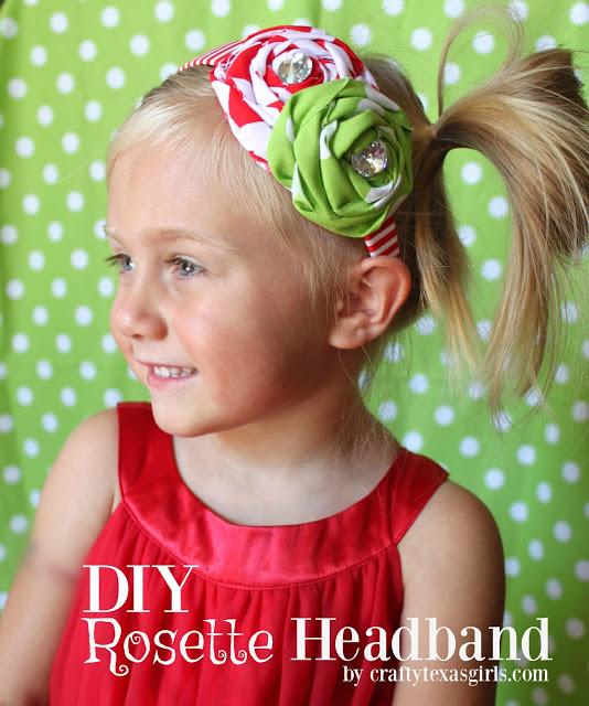 How to Make DIY Rosette Headbands